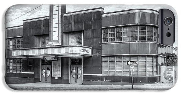 Old Bus Stations Photographs iPhone Cases - Jackson Mississippi Greyhound Bus Station II iPhone Case by Clarence Holmes