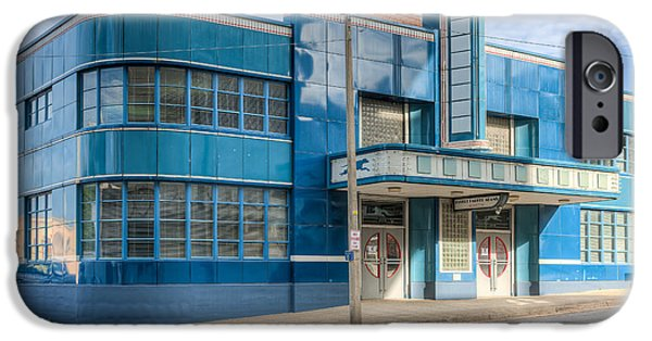 Old Bus Stations iPhone Cases - Jackson Mississippi Greyhound Bus Station III iPhone Case by Clarence Holmes