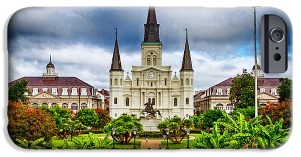 New iPhone Cases - Jackson Square New Orleans iPhone Case by Jarrod Erbe