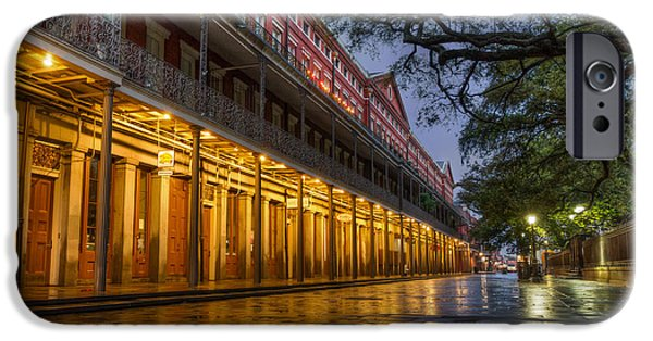 Louisiana Photographs iPhone Cases - Jackson Square Reflections iPhone Case by Tim Stanley