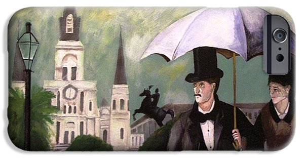 Jackson Square iPhone Case by Rob Peters