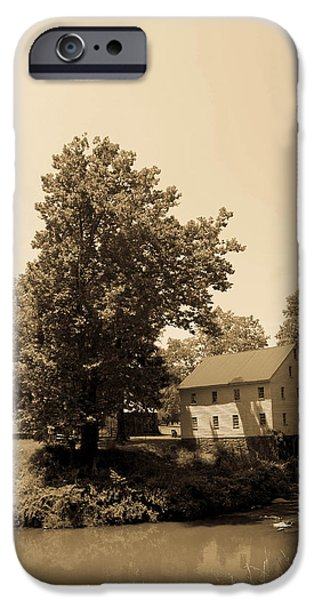 West Fork iPhone Cases - Jacksons Mill Timeless Series 5 iPhone Case by Howard Tenke