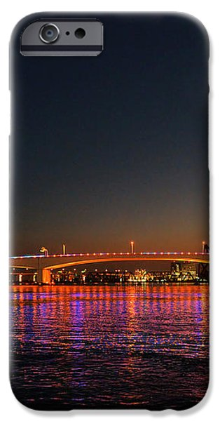 Jacksonville Acosta Bridge iPhone Case by Christine Till
