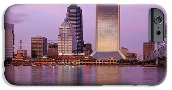 St. Johns River iPhone Cases - Jacksonville Fl iPhone Case by Panoramic Images