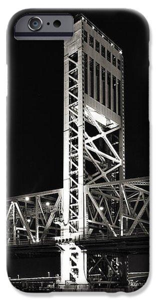 Jacksonville Florida Main Street Bridge iPhone Case by Christine Till