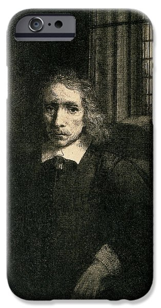 Drypoint iPhone Cases - Jacob Haaringh iPhone Case by Rembrandt