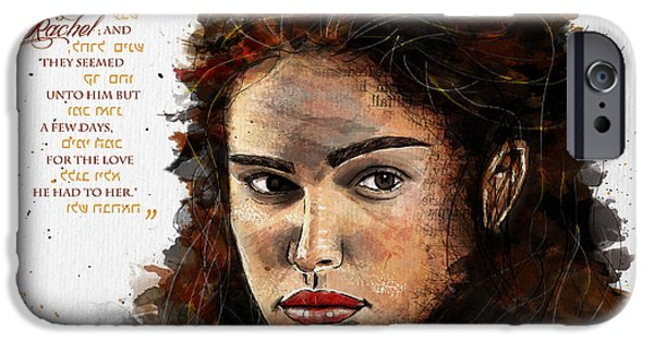 Beautiful Face iPhone Cases - Jacobs Crush iPhone Case by Gary Bodnar