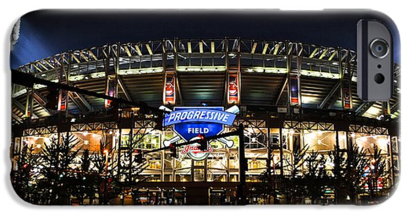 All Star Game iPhone Cases - Jacobs Field iPhone Case by Frozen in Time Fine Art Photography