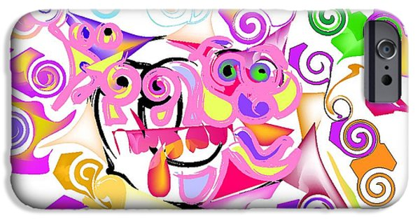Ballet Of Colors iPhone Cases - Jacques Cousteaus brain iPhone Case by Andy Cordan