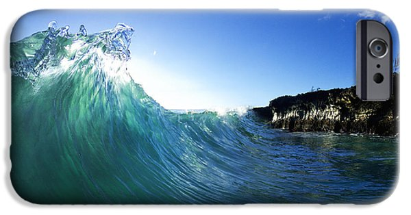 Surrealism Photographs iPhone Cases - Jade Crystal iPhone Case by Sean Davey