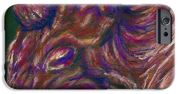 Science Fiction Pastels iPhone Cases - Jadoon iPhone Case by Connie Mobley Johns