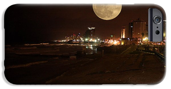Sacrifice Mixed Media iPhone Cases - Jaffa at Night iPhone Case by Michael Braham