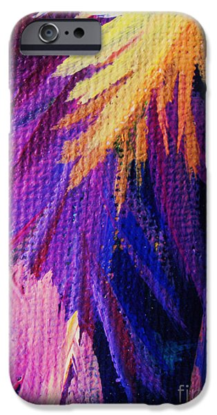 Abstract Expressionist iPhone Cases - Jagged iPhone Case by John Clark