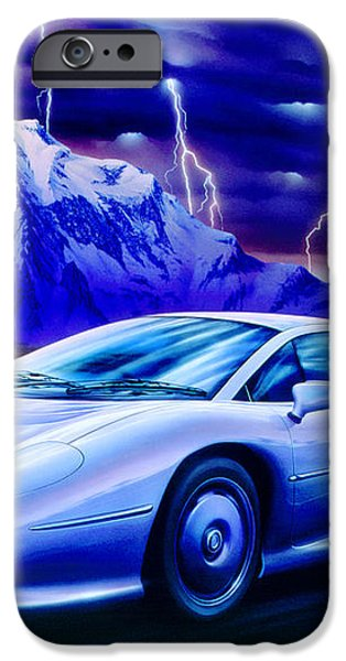 Jaguar 220 iPhone Case by Garry Walton