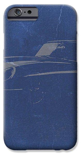 Jaguar E Type iPhone Case by Naxart Studio