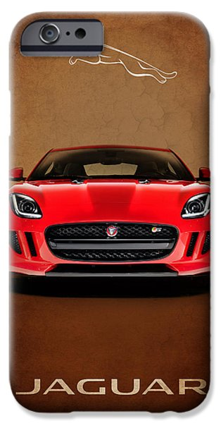 Jaguar F Type iPhone Case by Mark Rogan