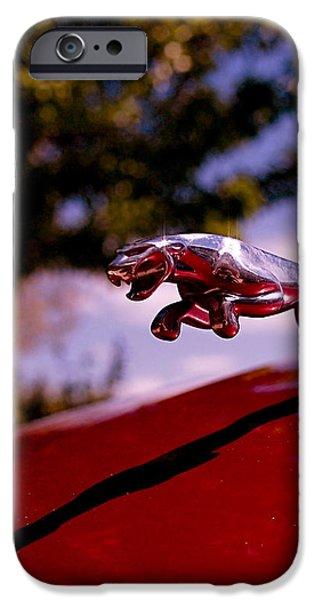 Jaguar iPhone Case by Rona Black
