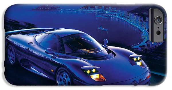 Power iPhone Cases - Jaguar XJR-15 iPhone Case by Garry Walton