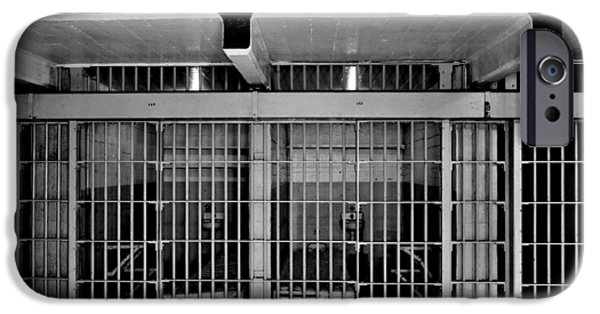 Infamous iPhone Cases - Jail Cells iPhone Case by Benjamin Yeager