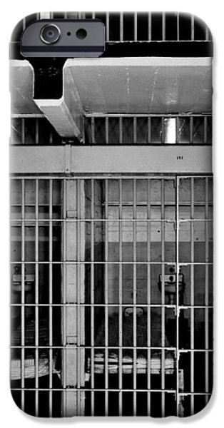 Jail Cells iPhone Case by Benjamin Yeager