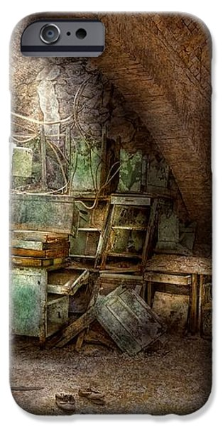 Jail - Eastern State Penitentiary - Cabinet members  iPhone Case by Mike Savad