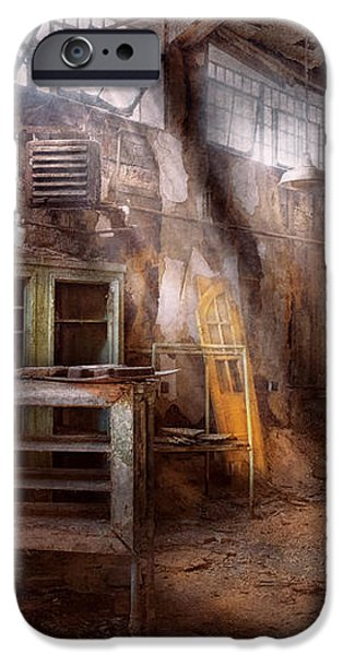Jail - Eastern State Penitentiary - Sick Bay iPhone Case by Mike Savad