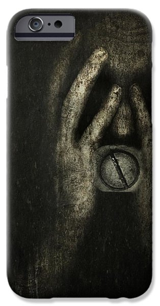 Torment iPhone Cases - Jail within iPhone Case by Johan Lilja
