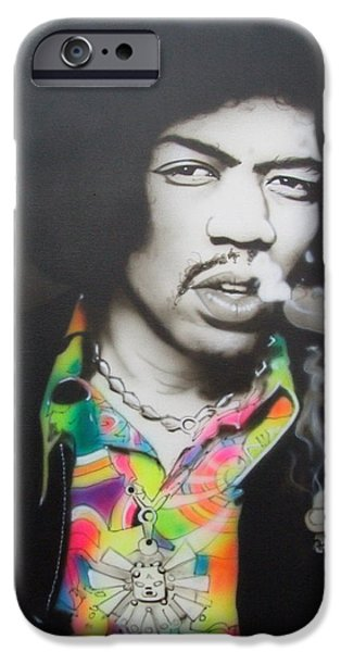 Cool Art iPhone Cases - Jam Back at the House iPhone Case by Christian Chapman Art