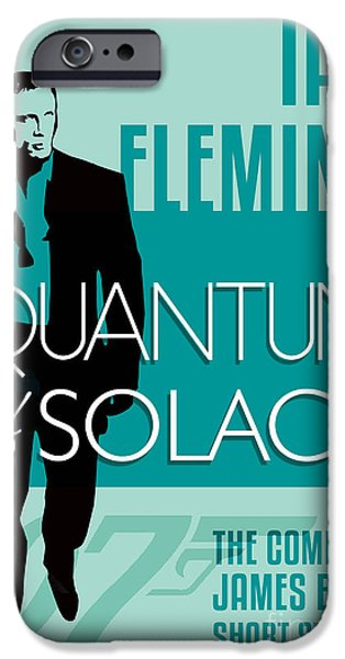 Book Of Daniel iPhone Cases - James Bond Book Cover Movie Poster Art 5 iPhone Case by Nishanth Gopinathan