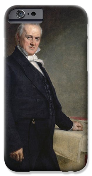Recently Sold -  - Politician iPhone Cases - James Buchanan iPhone Case by Nomad Art And  Design