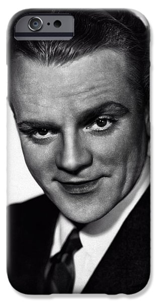 Ev-in iPhone Cases - James Cagney iPhone Case by Michael Braham