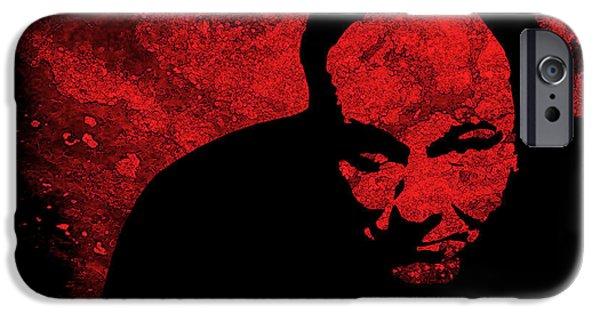 James Gandolfini iPhone Cases - James Gandolfini iPhone Case by Studio Beat it