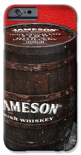 Interior Scene iPhone Cases - Jameson Irish Whiskey iPhone Case by John Rizzuto