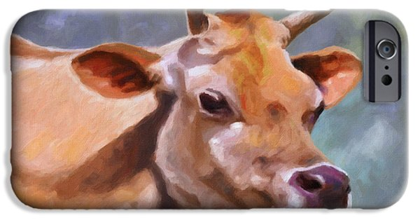 Swiss Horn iPhone Cases - Jane iPhone Case by Anthony Mwangi