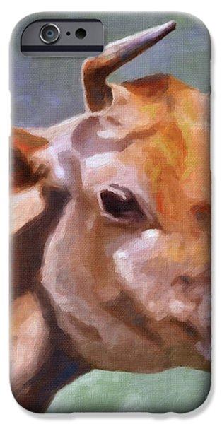 Jane iPhone Case by Anthony Mwangi