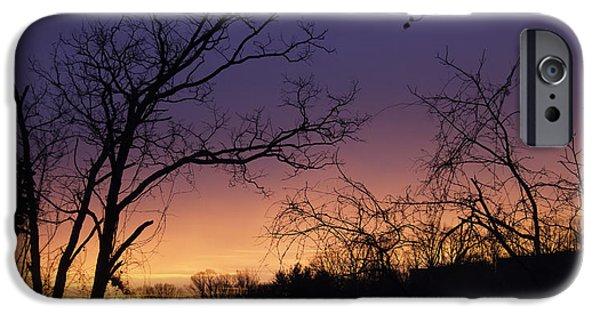 Nature Scene iPhone Cases - January 2015 Sunrise iPhone Case by Teresa Mucha