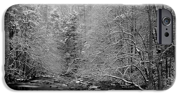 White River Scene Photographs iPhone Cases - January Gift iPhone Case by Michael Eingle