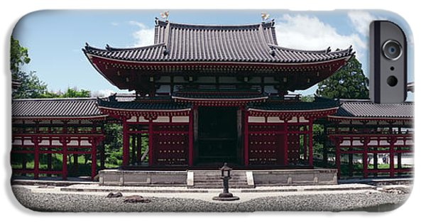 Buddhist iPhone Cases - Japan Byodo-in Temple iPhone Case by Daniel Hagerman
