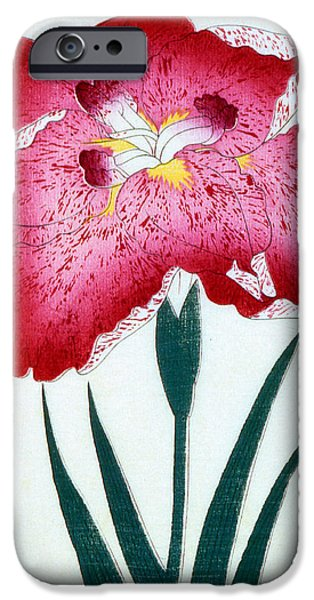 Florals iPhone Cases - Japanese School iPhone Case by Japanese School