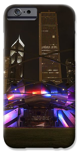 Jay Pritzker Pavilion Chicago iPhone Case by Adam Romanowicz