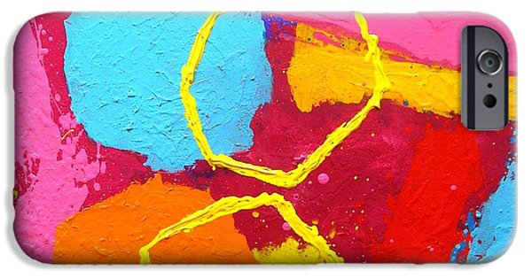 Celebration Paintings iPhone Cases - Jazz Process III iPhone Case by John  Nolan