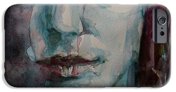 Lips iPhone Cases - Je TAime iPhone Case by Paul Lovering