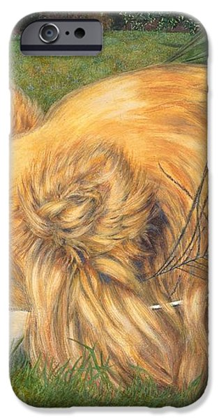 Jealous Jessie iPhone Case by Emily Hunt and William Holman Hunt