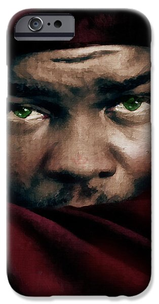Male iPhone Cases - Jealous Othello iPhone Case by Georgiana Romanovna