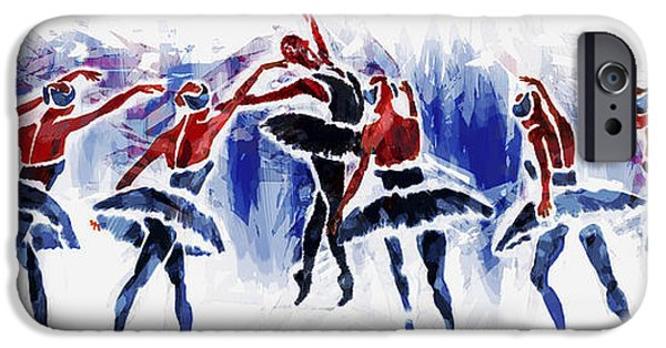 Ballet Dancers iPhone Cases - Jealousy iPhone Case by Siyavush Mammadov