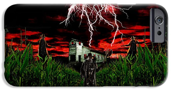Francis Ford Coppola iPhone Cases - Jeepers Creepers iPhone Case by Michael Rucker