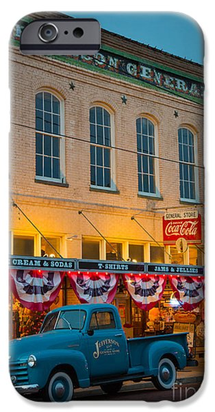 North America Photographs iPhone Cases - Jefferson General Store iPhone Case by Inge Johnsson