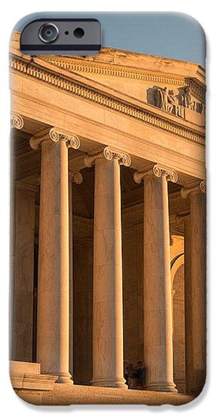 Jefferson Memorial Sunset iPhone Case by Steve Gadomski
