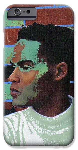 Jeffrey Burton Fisher 1989 iPhone Case by Feile Case