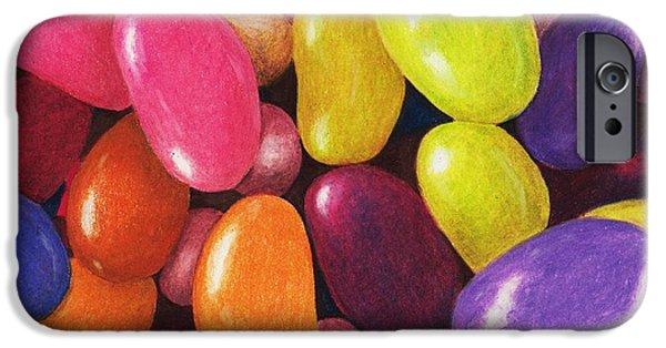 Hard iPhone Cases - Jelly Beans iPhone Case by Anastasiya Malakhova